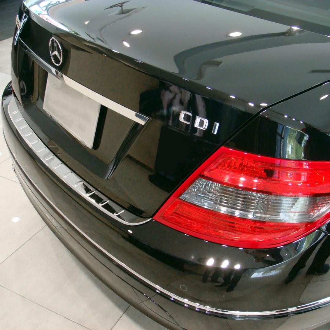 Χρώμιο προστασίας πορτ-μπαγκάζ για Mercedes Benz W204