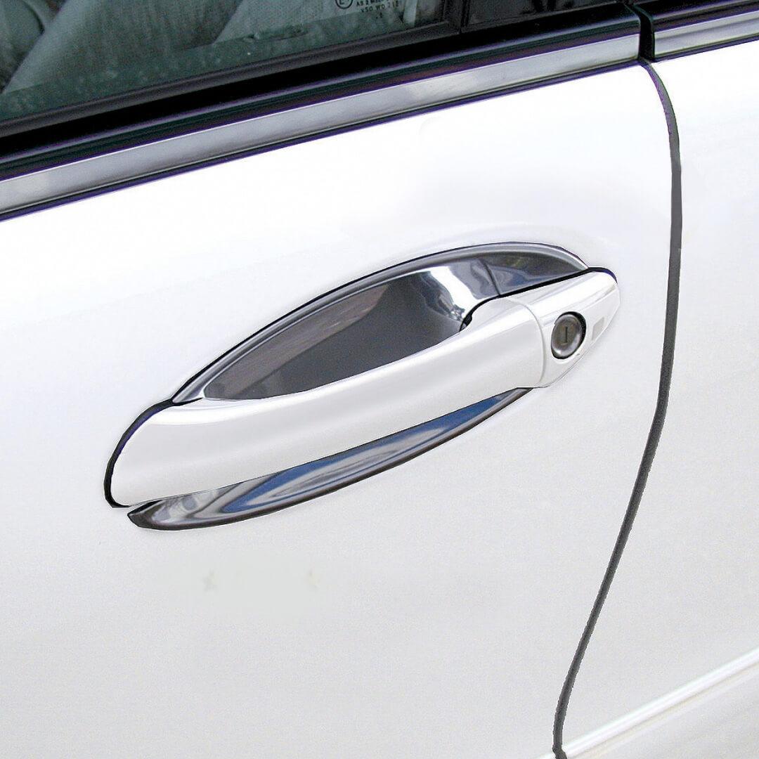 Χούφτες χρωμίου για Mercedes Benz W169 3-πόρτο.