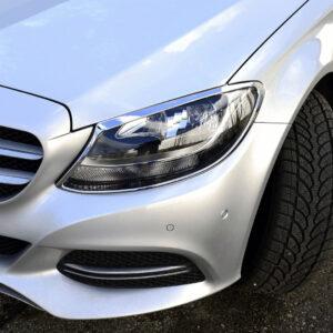 Χρώμια προβολέων για Mercedes Βenz C-Class W205