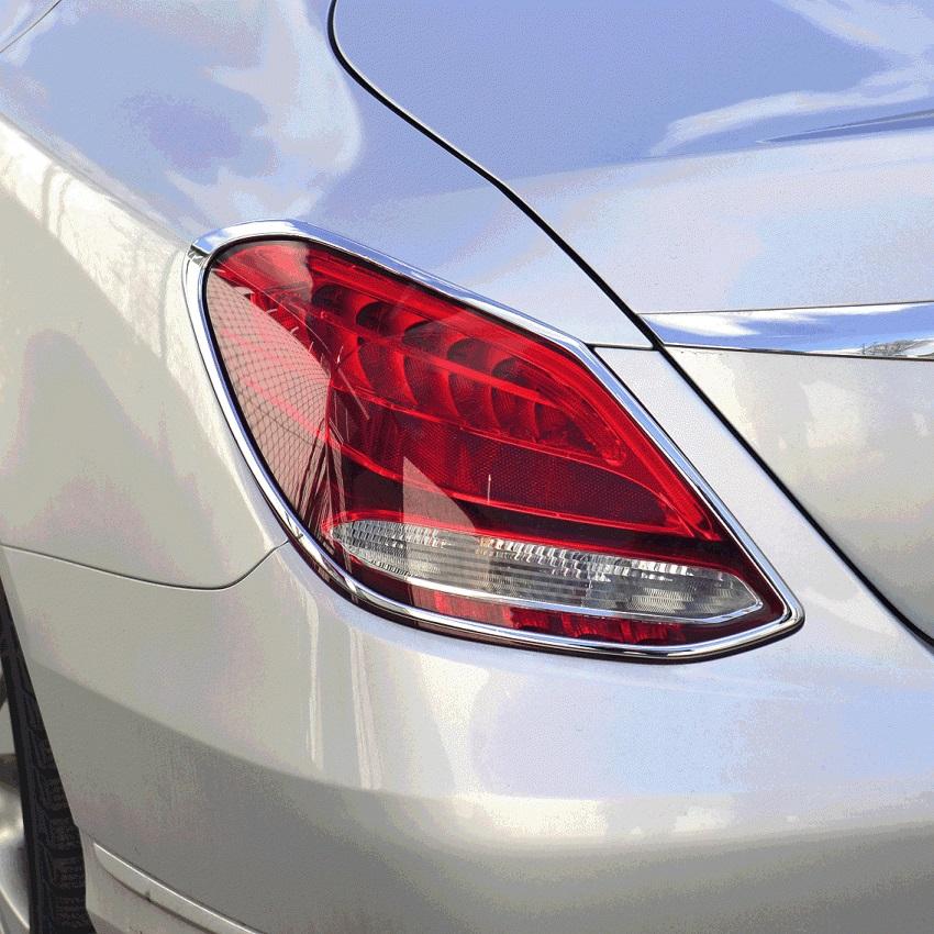 Χρώμια πίσω φαναριών για Mercedes Benz C-Class W205