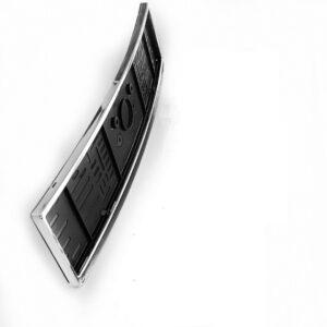 Χρώμιο πλαίσιο πινακίδας κυκλοφορίας (κυρτό) για Mercedes Benz