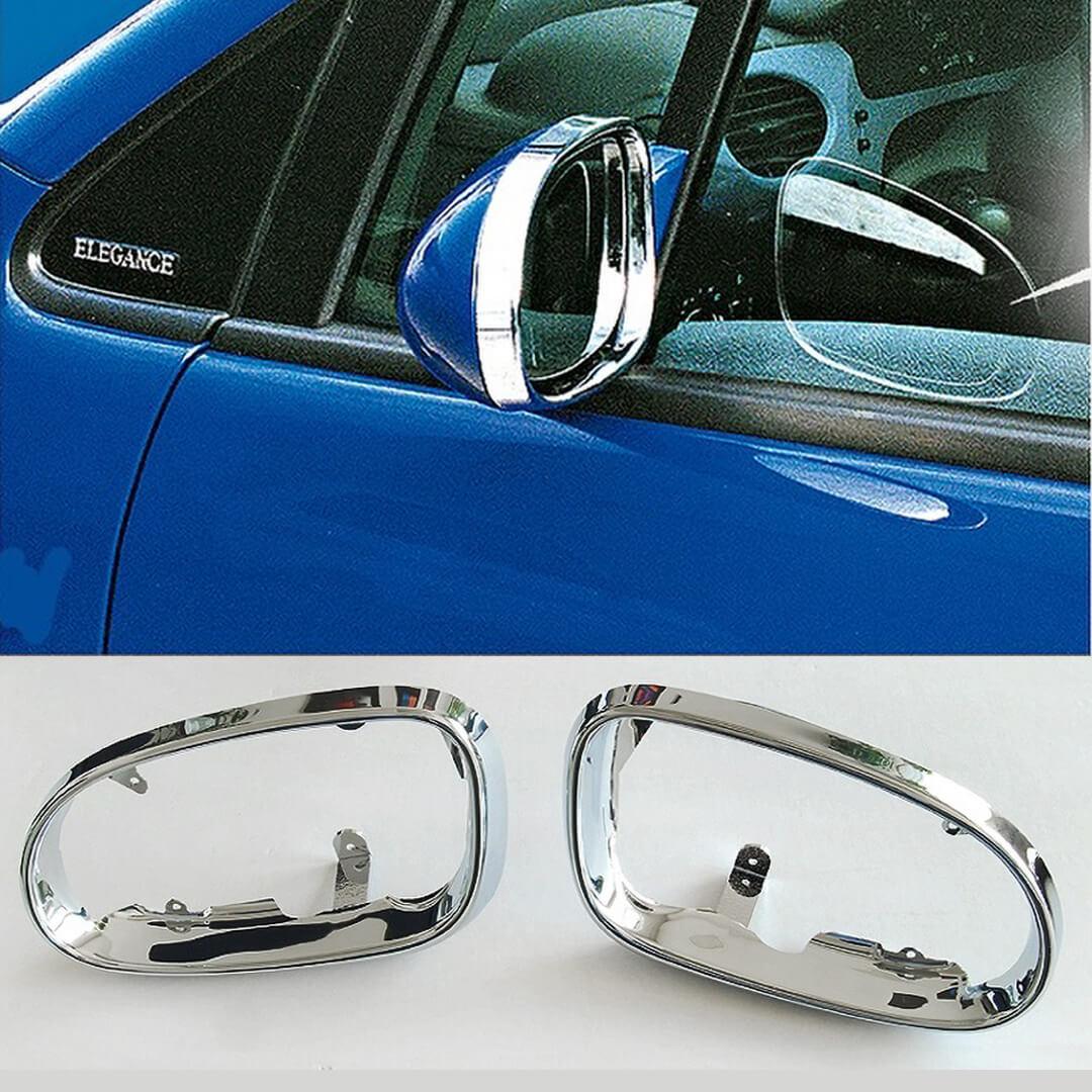 Πλαίσιο χρωμίου καθρεπτών χωρίς φλας για Mercedes Benz W168.