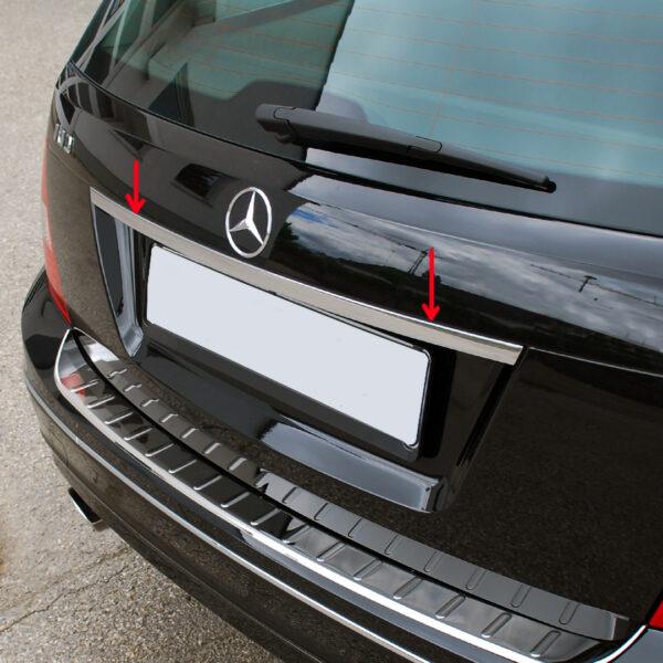 Χρώμιο λαβής πορτ-μπαγκάζ για Mercedes Benz C-Class W204 T-μοντέλα