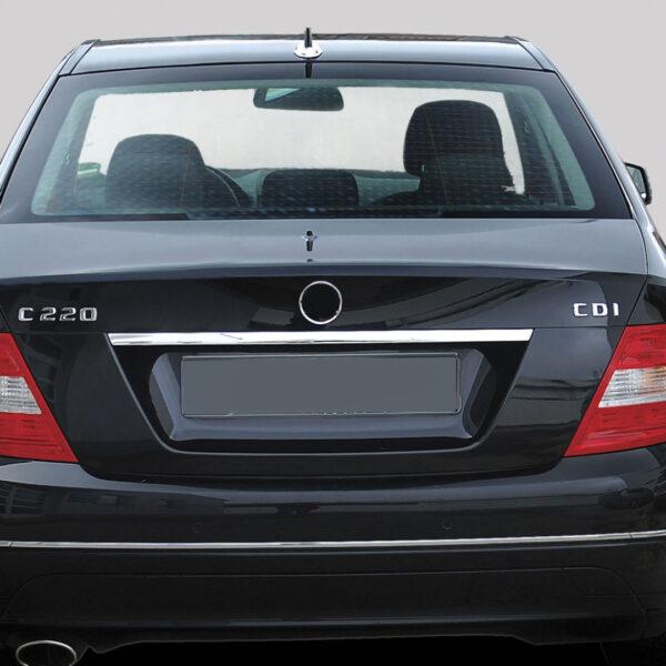 Χρώμιο λαβής πορτ-μπαγκάζ για Mercedes Benz C-Class W204 λιμουζίνα