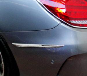 Διακοσμητικό χρώμιο πίσω προφυλακτήρα για Mercedes Benz C-Class W205