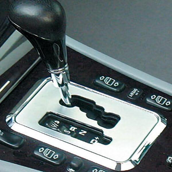 Χτένι μοχλού ταχυτήτων χρωμίου αυτόματο Tiptronic από 07/99 για Mercedes Benz C-Class W202