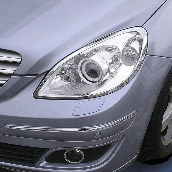 Χρώμια προβολέων για Mercedes Βenz B-Class W245.
