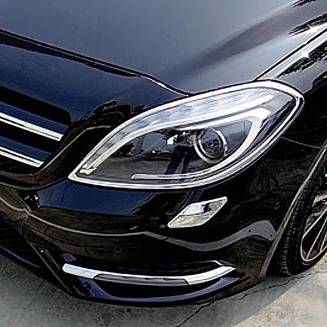 Χρώμια προβολέων για Mercedes Benz B-Class W246 από 11/2011 - 10/2014.