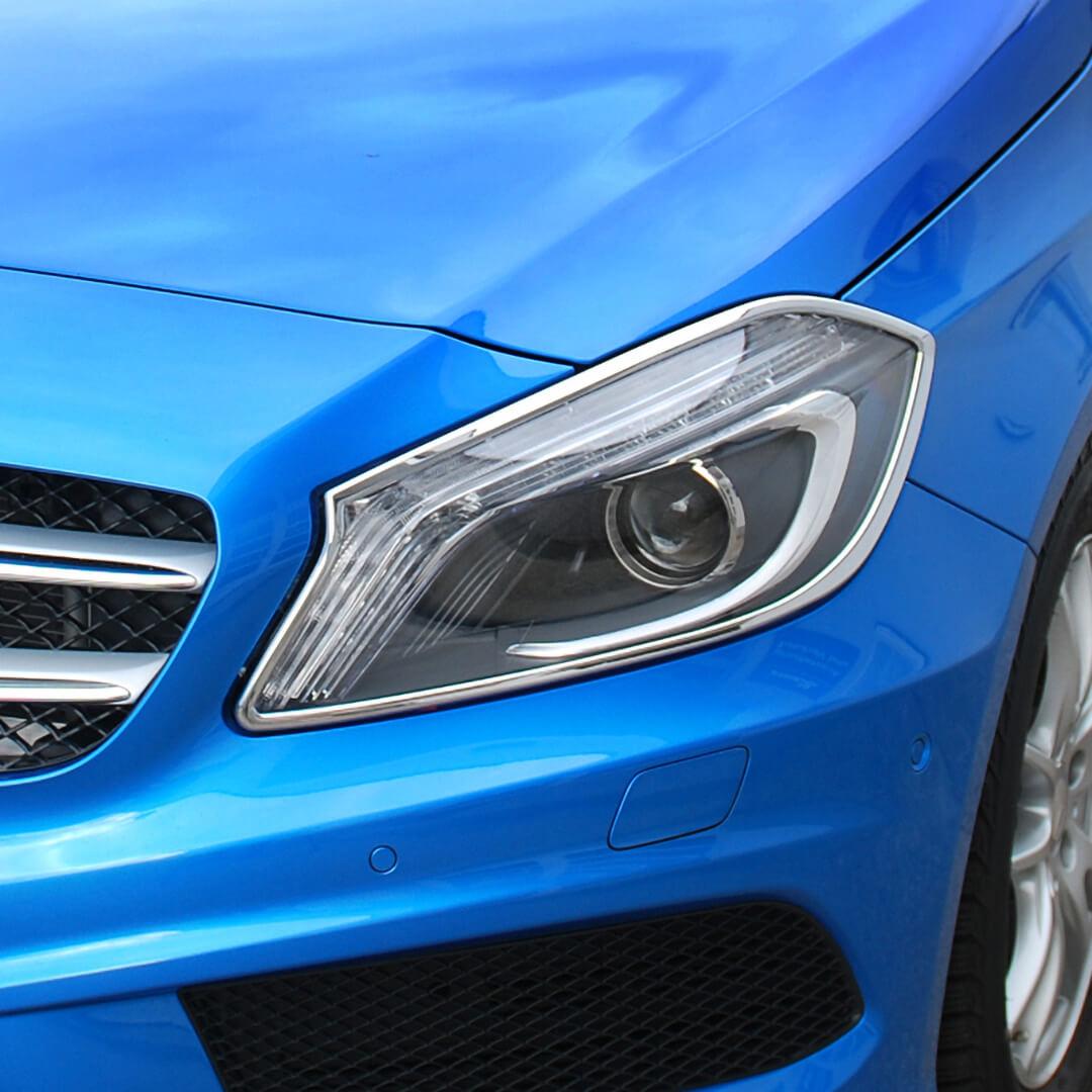 Χρώμια προβολέων για Mercedes A-Class W176.