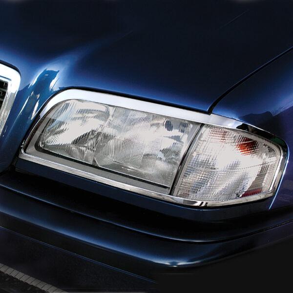 Χρώμια προβολέων για Mercedes Βenz C-Class W202
