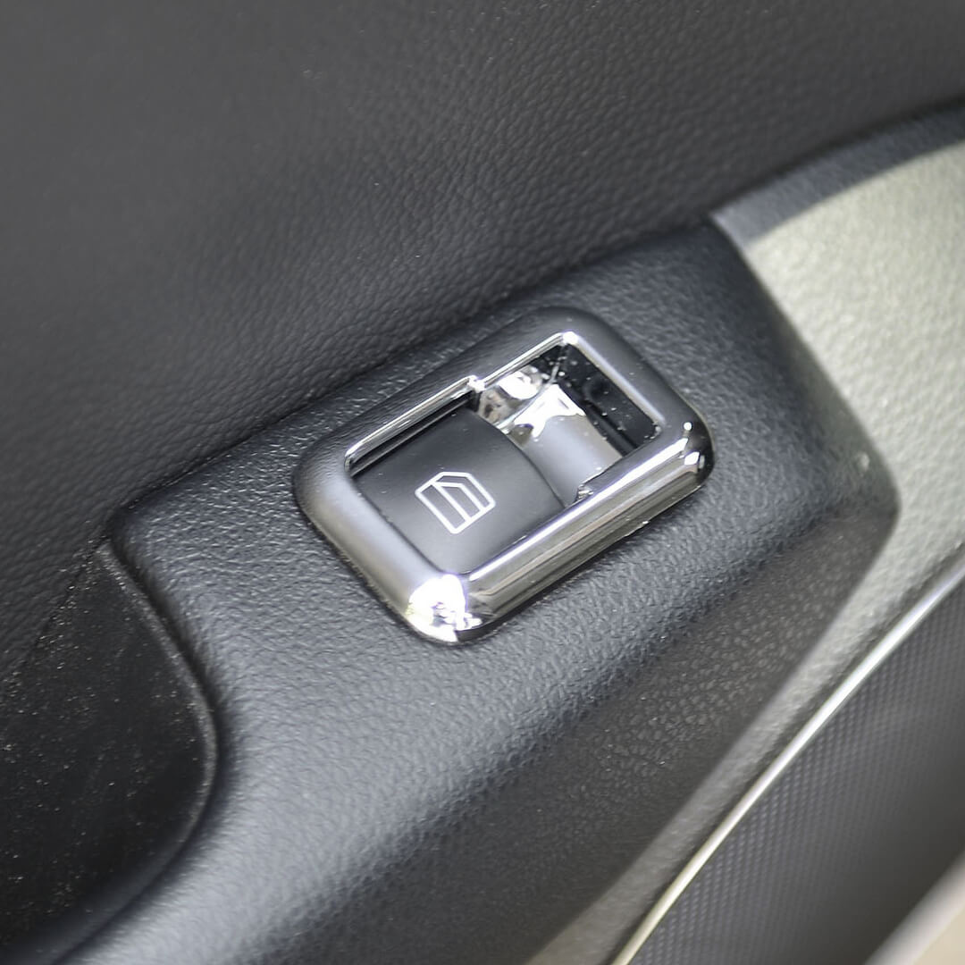 Πλαίσιο ηλεκτρικών παραθύρων χρώμιο ματ για Mercedes Benz