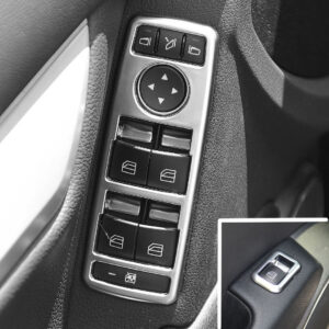 Πλαίσιο ηλεκτρικών παραθύρων σε έκδοση χρωμίου ματ για Mercedes Benz