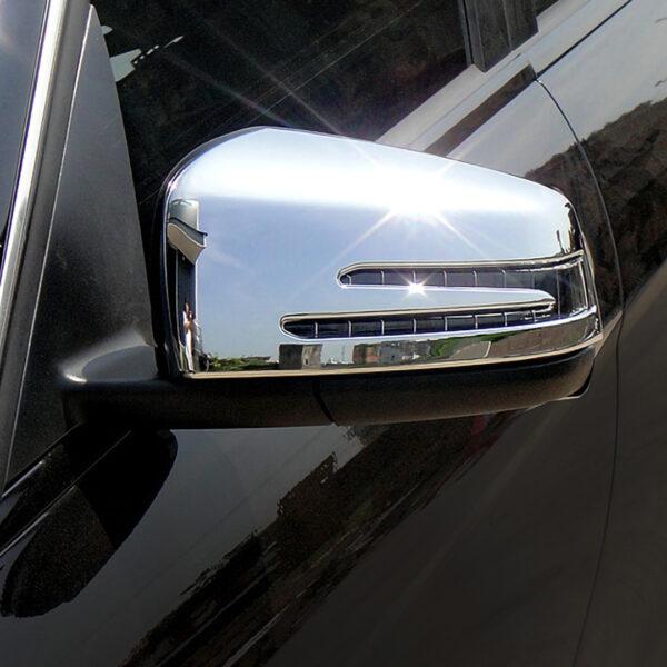 Καπάκια καθρεπτών χρωμίου για Mercedes Benz