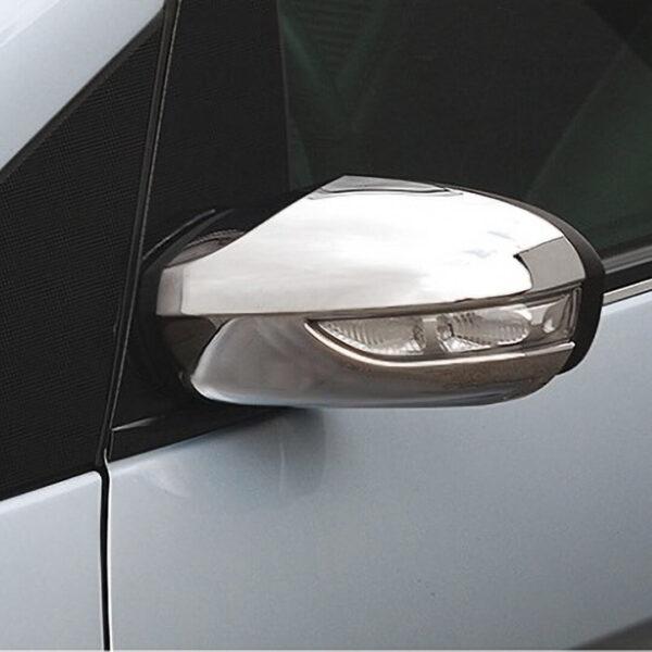 Καπάκια καθρεπτών χρωμίου για Mercedes Benz.