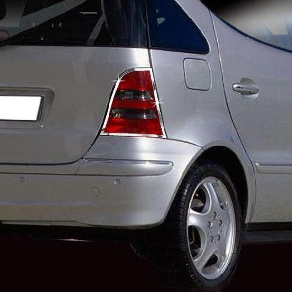 Χρώμια πίσω φαναριών για Mercedes Benz A-Class W168.