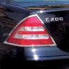 Χρώμια πίσω φαναριών για Mercedes Benz C-Class W203 λιμουζίνα