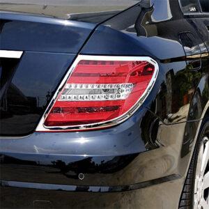Χρώμια πίσω φαναριών για Mercedes Benz C-Class W204