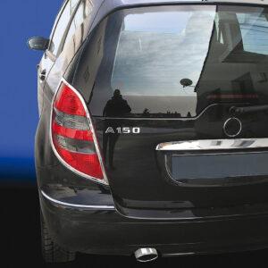 Χρώμια πίσω φαναριών για Mercedes Benz A-Class W169