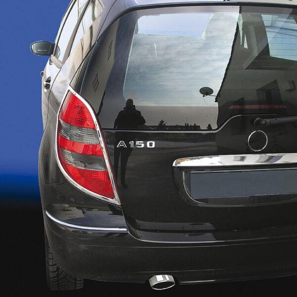 Χρώμια πίσω φαναριών για Mercedes Benz A-Class W169.