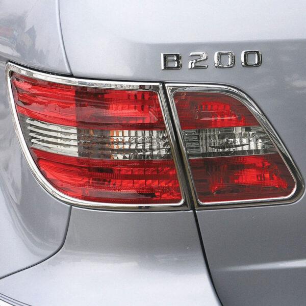 Χρώμια πίσω φαναριών για Mercedes Benz B-Class W245.