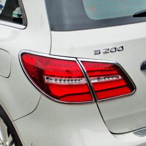 Χρώμια πίσω φαναριών για Mercedes Benz B-Class W246 από 11/2014-03/2017