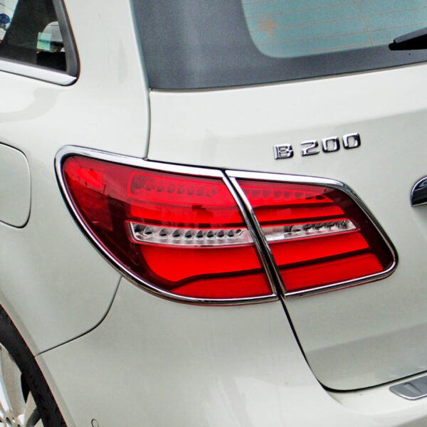 Χρώμια πίσω φαναριών για Mercedes Benz B-Class W246 από 11/2014-03/2017.