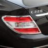 Χρώμια πίσω φαναριών με σχισμές για Mercedes Benz C-Class W204 λιμουζίνα