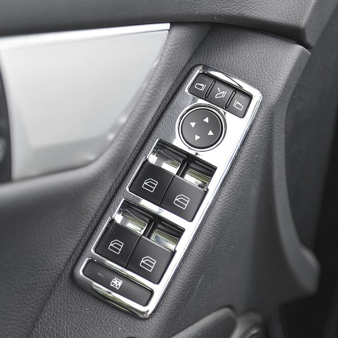 Πλαίσιο ηλεκτρικών παραθύρων χρώμιο για Mercedes Benz.