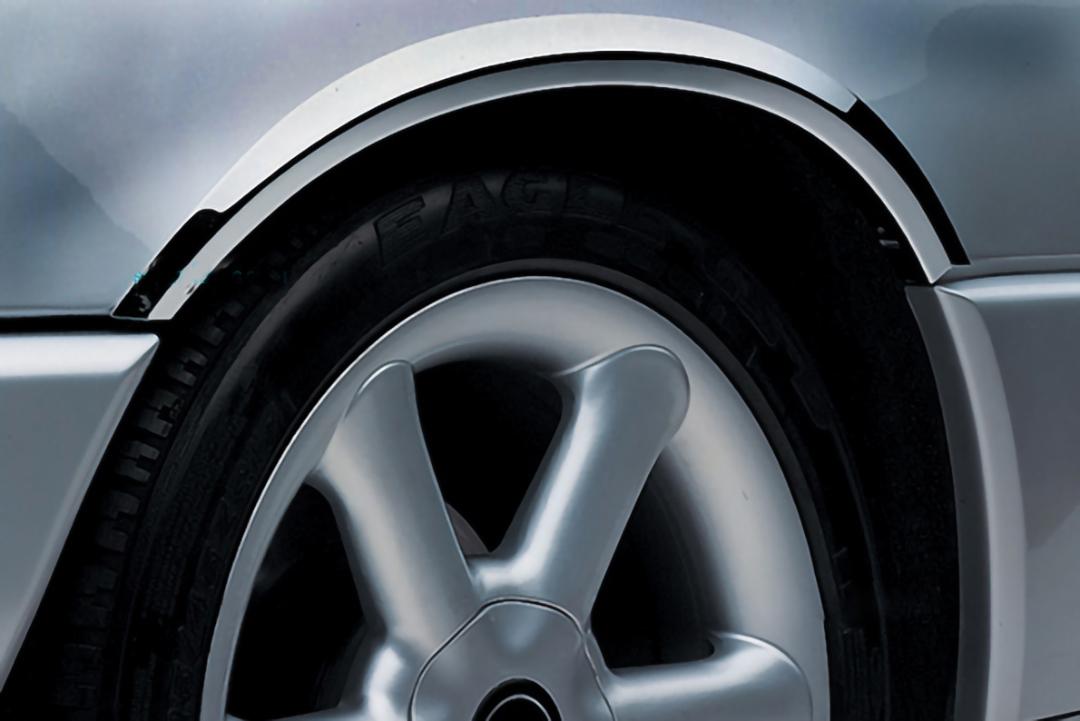 Χρώμια φτερών από ανοξείδωτο ατσάλι για Mercedes Benz C-Class W203 Τ-μοντέλα