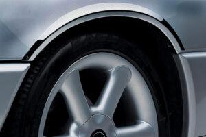 Χρώμια φτερών από ανοξείδωτο ατσάλι για Mercedes Benz B-Class W245