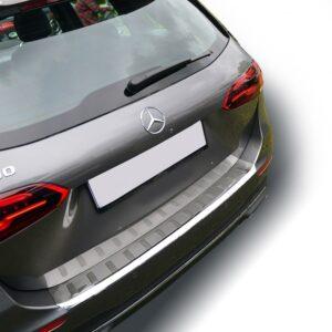 Χρώμιο προστασίας πορτ-μπαγκάζ με ρίγες ματ για Mercedes Benz W247