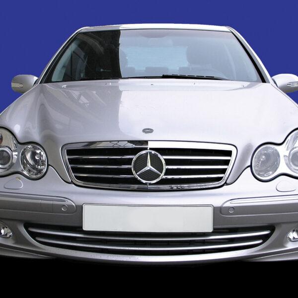 Μάσκα σπορ χρωμίου avantgarde για Mercedes Benz C-Class W203
