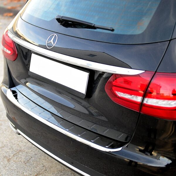 Χρώμιο προστασίας πορτ-μπαγκάζ για Mercedes Benz W205 Τ-μοντέλα
