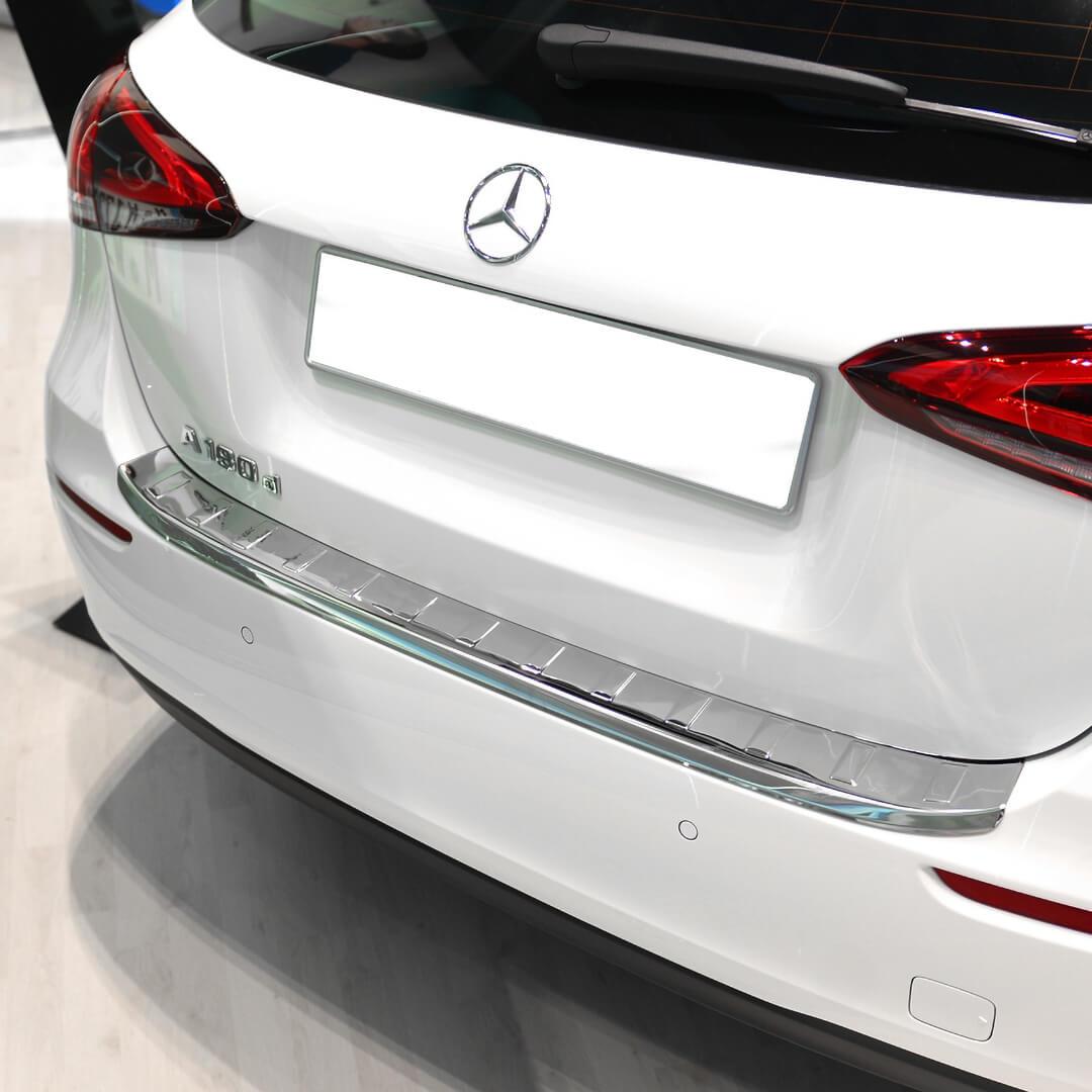 Χρώμιο προστασίας πορτ-μπαγκάζ για Mercedes A-Class W177 με Standard.