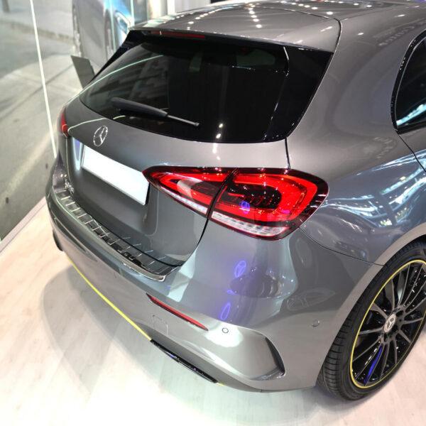 Χρώμιο προστασίας πορτ-μπαγκάζ για Mercedes A-Class W177 AMG ή με AMG Line.