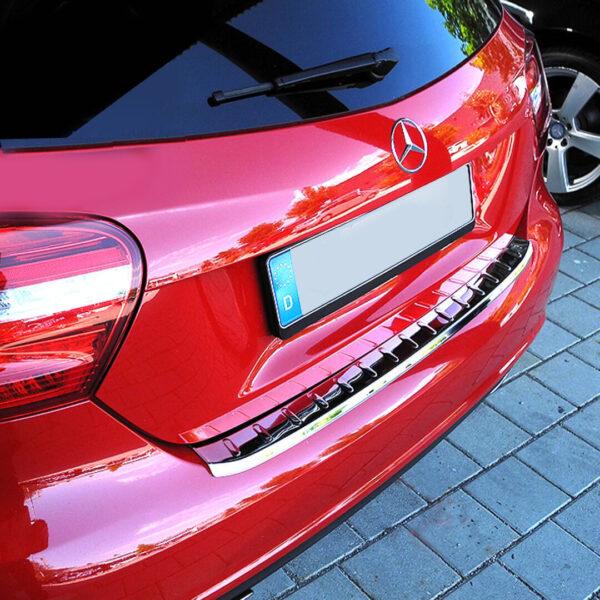 Χρώμιο προστασίας πορτ-μπαγκάζ για Mercedes Benz A-Class W176.