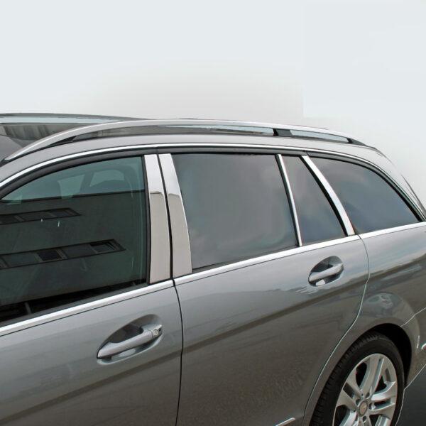 Ανοξείδωτη επένδυση για τις μεσαίες κολώνες για Mercedes Benz C-Class W204 Τ-μοντέλα