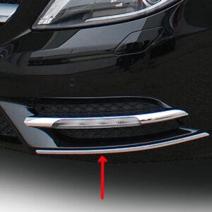 Διακοσμητικά εμπρός & πίσω προφυλακτήρα από ανοξείδωτο ατσάλι για Mercedes Benz W246