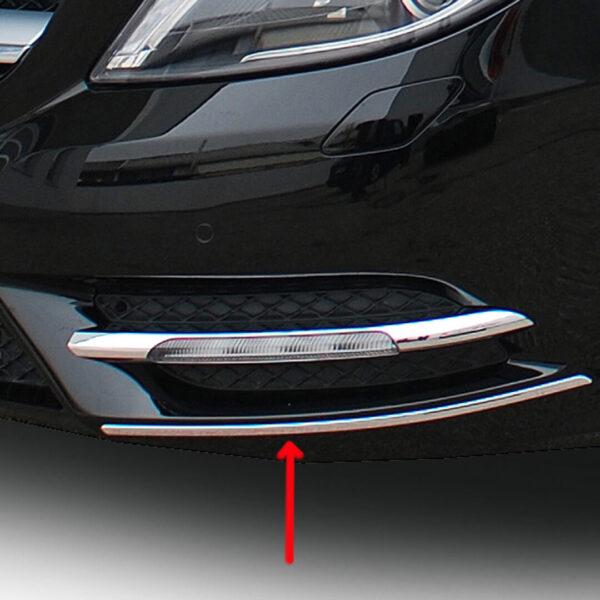 Διακοσμητικά εμπρός & πίσω προφυλακτήρα από ανοξείδωτο ατσάλι για Mercedes Benz W246.