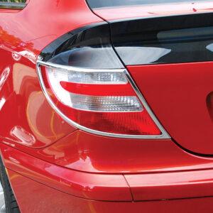 Χρώμια πίσω φαναριών για Mercedes Benz Sportcoupé CL 203 2001-2007