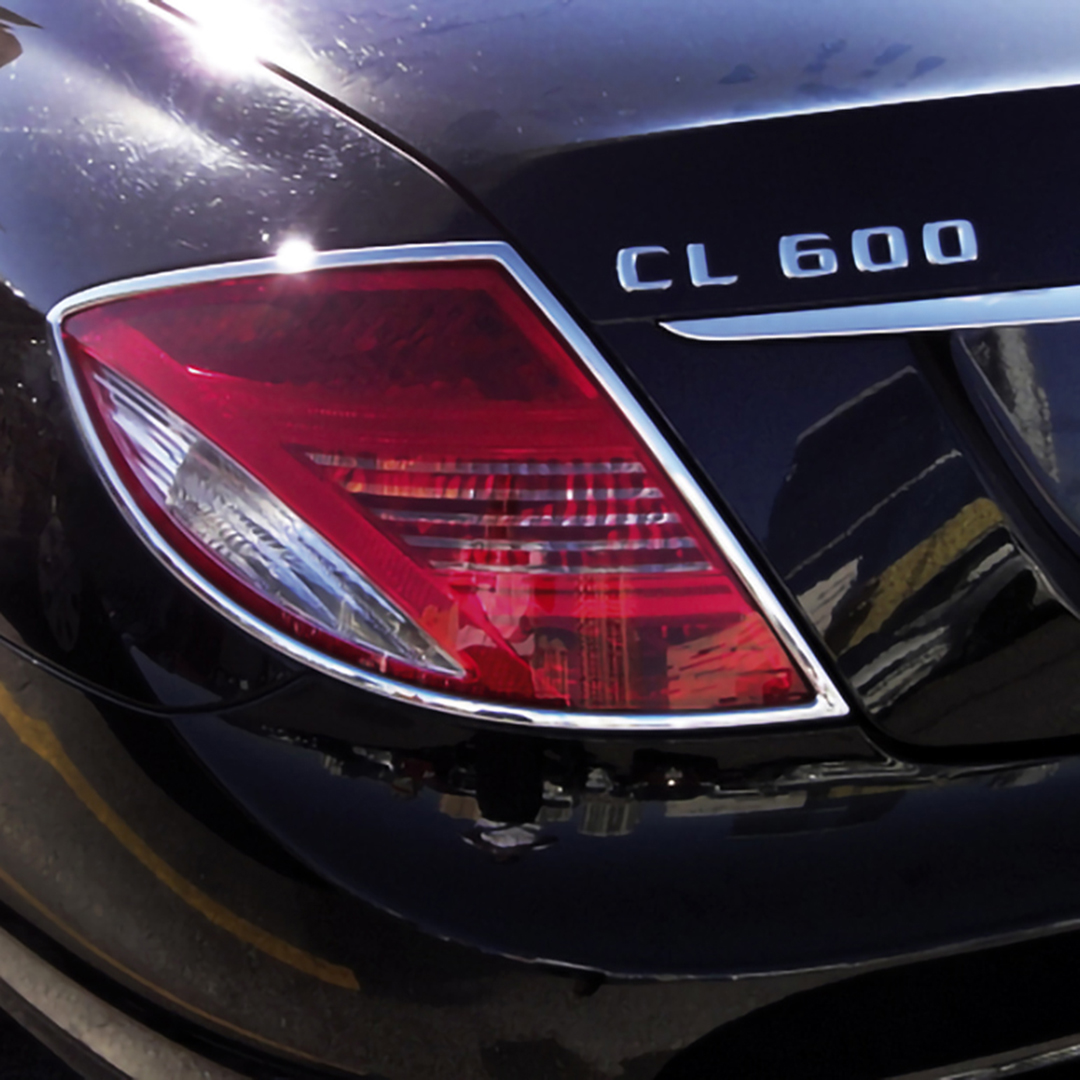 Χρώμια πίσω φαναριών για Mercedes Benz CL C216