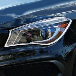 Χρώμια προβολέων για Mercedes Βenz CLA C117