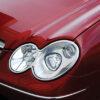 Χρώμια προβολέων για Mercedes Benz CLK W209 Coupe/Cabrio 2002 - 2010