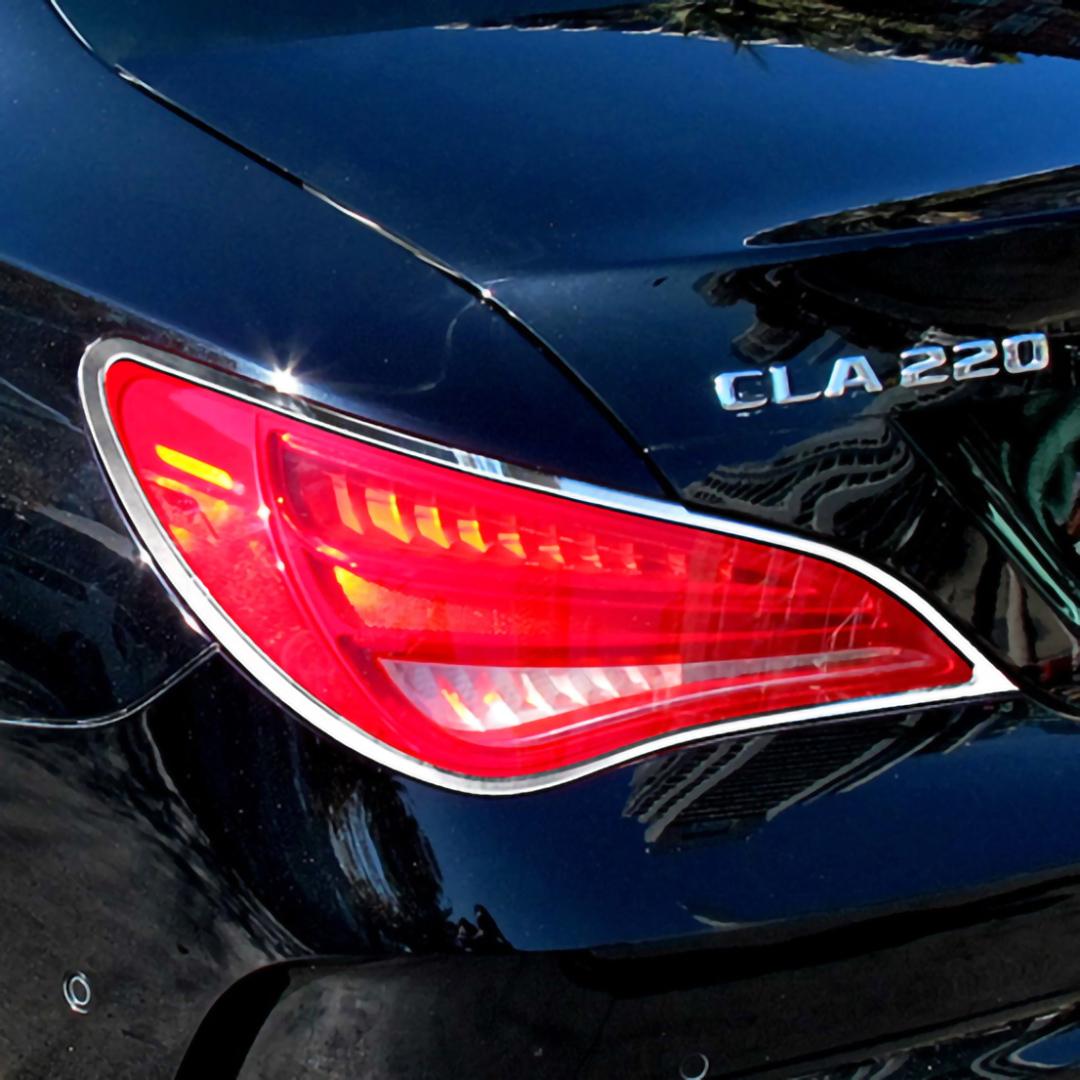 Χρώμια πίσω φαναριών για Mercedes Benz CLA C117 από 2013