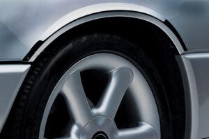 Χρώμια φτερών από ανοξείδωτο ατσάλι για Mercedes Benz C-Class Sportcoupe + CLC 10/2000–02/2011