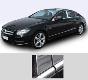 Ανοξείδωτη επένδυση για τις μεσαίες κολώνες για Mercedes Benz CL C218 από 01/2011