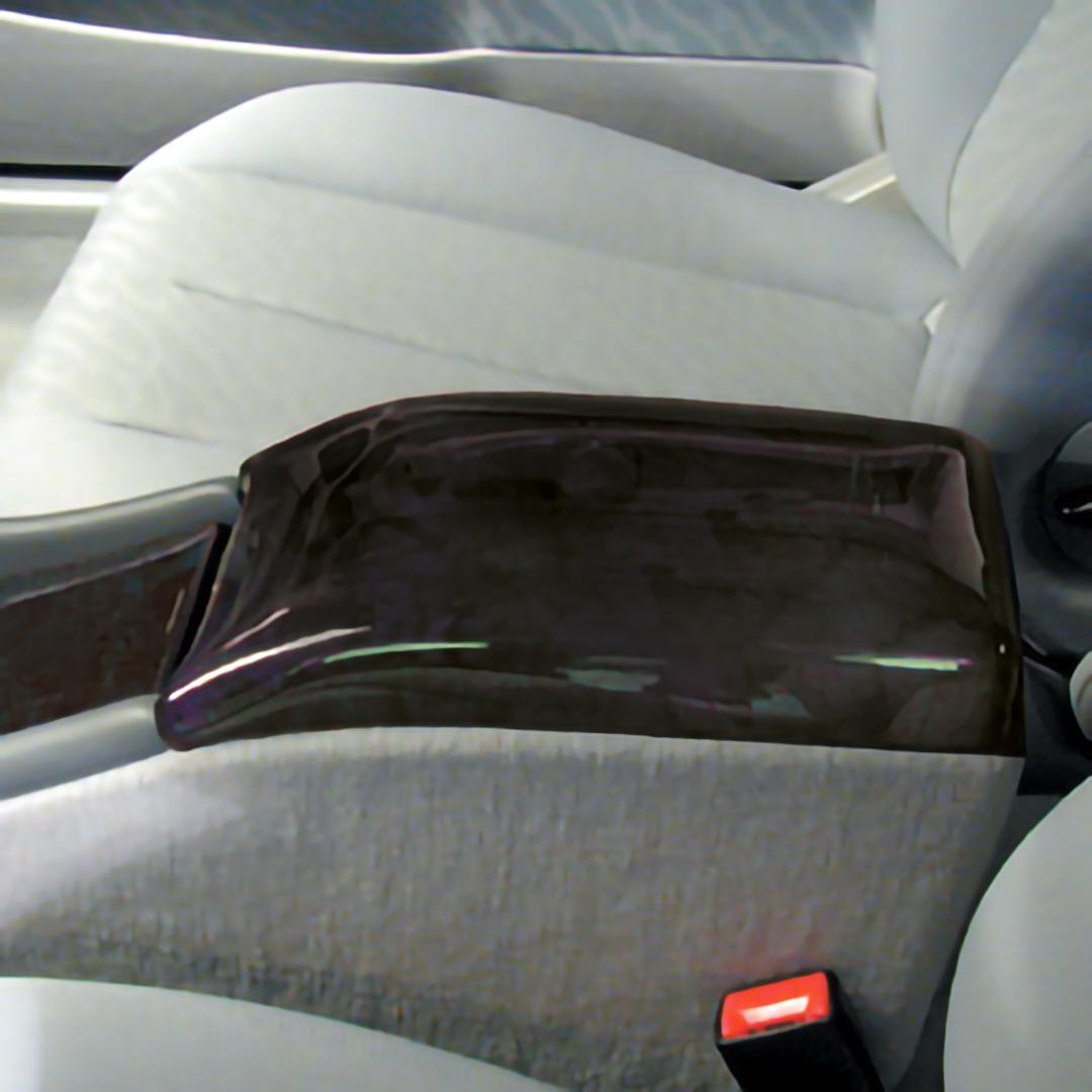 Ξύλινη επένδυση βραχιονίου Birdeye Black / Vogelaugenahorn για Mercedes Benz CLK W208