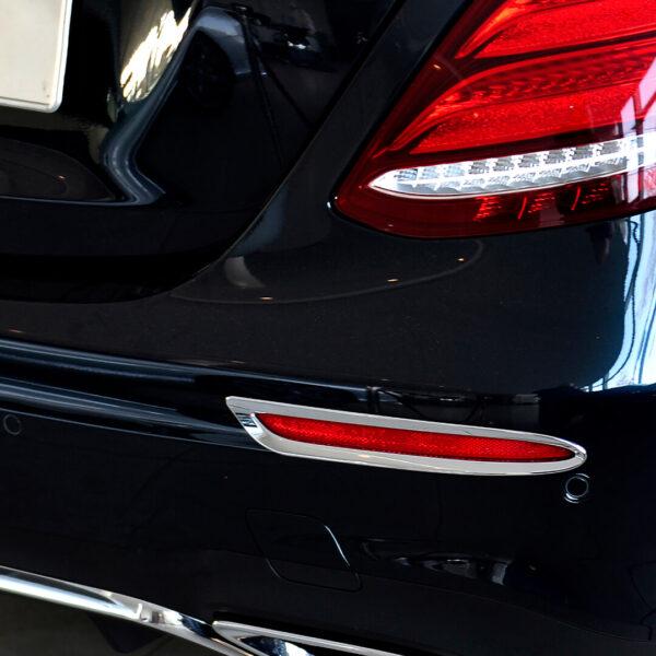 Πλαίσιο χρωμίου ανακλαστήρα για Mercedes Benz E-Class W213.
