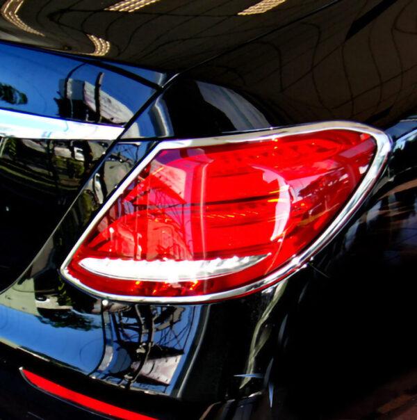 Χρώμια πίσω φαναριών για Mercedes Benz E-Class W213.