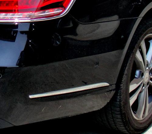 Chrome bumpers trim rear for Mercedes E-Class W212